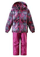 Демисезонный  комплект (ветровка + штаны) для девочки  Lassie 723702 - 3402. Размер 104-128.