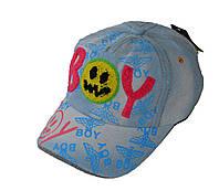 Джинсовая кепка BOY