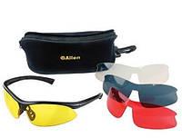 Очки ALLEN Pro Class для спорт.стрельбы, пластик,4-
