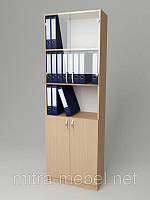 Шкаф для документов со стеклом Ш9 (600*320*1860h)