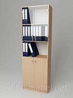 Шкаф для документов со стеклом К-113 (600*320*1860h)