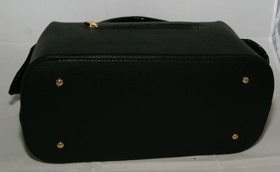Чёрная каркасная женская сумка-саквояж B.Elit  продажа, цена в Киеве ... 4e840e93846