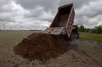 Чернозем доставка Киев. Грунт с доставкой. Грунт плодородный. Грунт растительный. Чернозем навоз грунт.