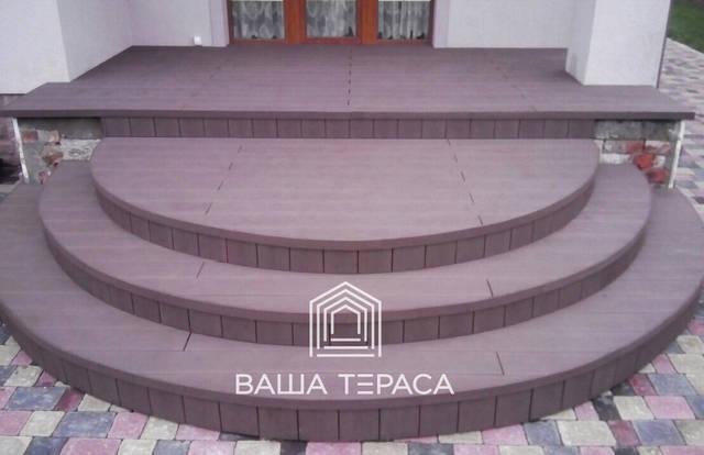 Лестницы с ДПК 1