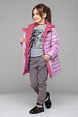 Детская удлиненная куртка на девочку Никса NUI VERY (нью вери) , фото 3