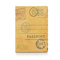 """Прикольная обложка для паспорта """"Открытка"""""""