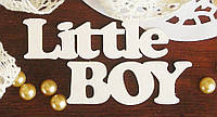 Чипборд для скрапбукинга Little boy 7,5*5,8 см. 1 шт