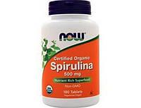 Spirulina 500 mg organic 180 tab