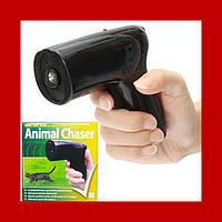 Ультразвуковой отпугиватель собак с лазером Scram Patrol Sonic Animal Chaser JB546!