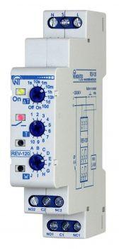 РЭВ-120 (REV-120) - реле времени многофункциональное