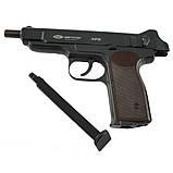 Пневматический пистолет Gletcher APS BB Blowback Пистолет Стечкина АПС, фото 6
