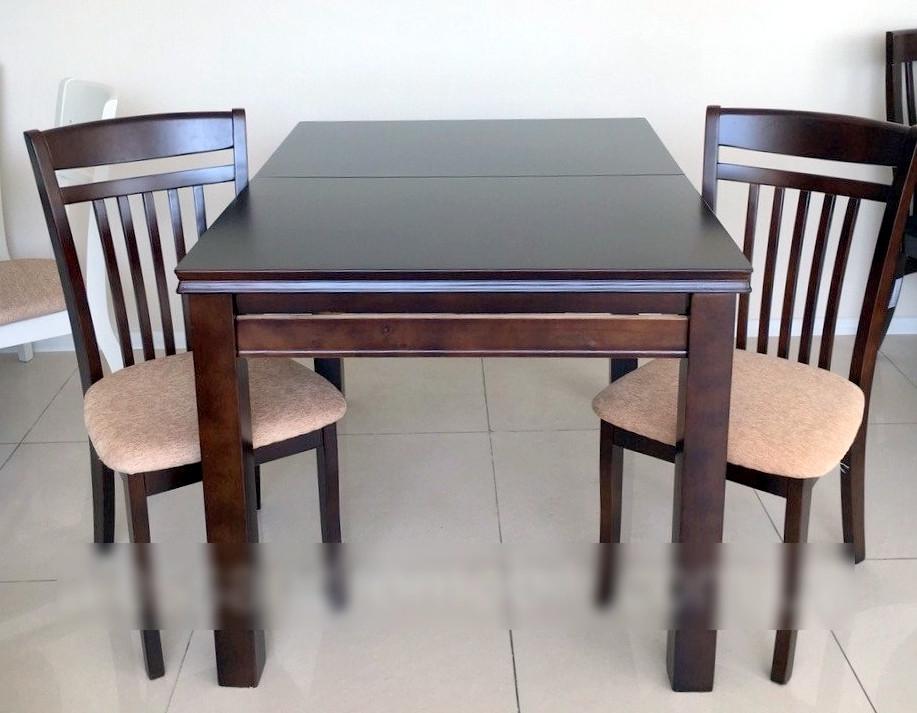 Стол кухонный  WT16, Exm цвет шоколад, Малайзия