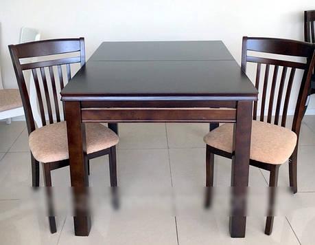 Стол кухонный  WT16, Exm цвет шоколад, Малайзия, фото 2