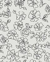 Тканевые ролеты. 40*200 см. Флора 2056 Серый (Любой размер под заказ)