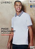 Мужская летняя футболка поло трикотаж фирмы Livergy размер евро XL 56 58