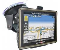 "GPS навигатор Shuttle PNA-5018, экран 5 дюймов (5,0""+FM+AV)"