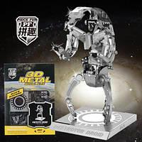 """Металлический 3D конструктор робот из серии """"STAR WARS""""  DESTROYER DROID"""