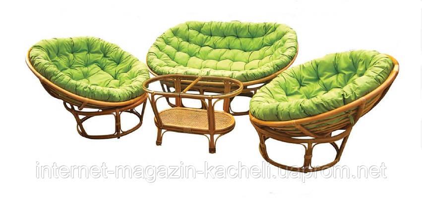 Комплект мебели Papasan из ротанга