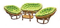 Комплект мебели Papasan из ротанга, фото 1
