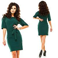 Платье Материал: креп-костюмная красный, темно-синий, электрик, темно-зеленый Длина: 95смжа№182-9