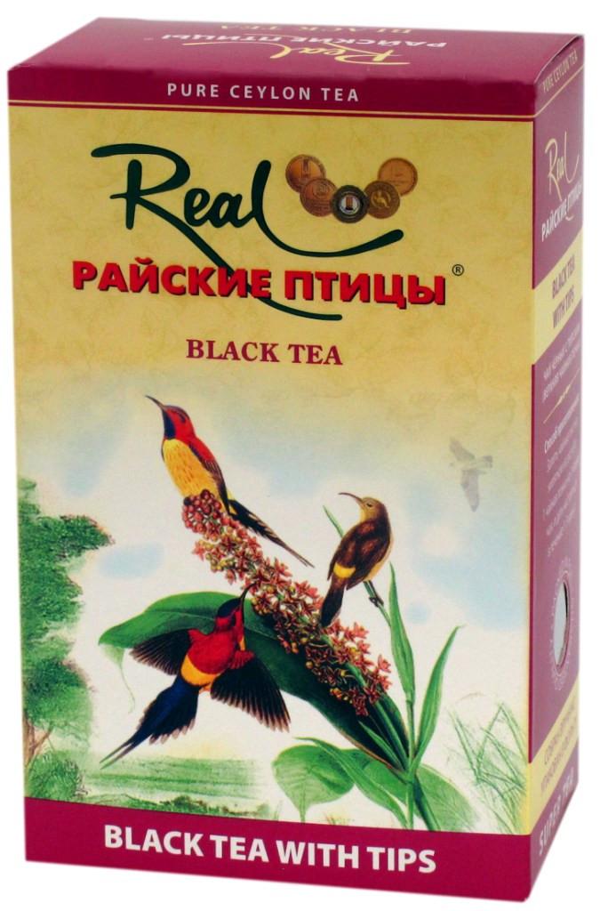 """Чай черный Райские птицы """"с типсами"""" 250г"""