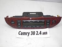 Б.У. Блок управления климат-контролем Toyota Camry 30 (2002 - 2006) Б/У