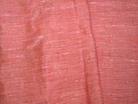 Ткань льняная коралловая 190 пл. 150 ш.