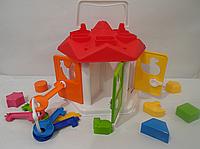 Развивающая игрушка Домик с ключиками «Умный малыш» | «ТехноК»