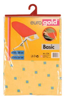 Сменный чехол Basic для гладильной доски 110*30 (+-2 см), Eurogold (Украина)
