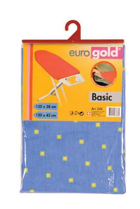 Сменный чехол Basic для гладильной доски 120*40 (+-2 см), Eurogold (Украина), фото 2