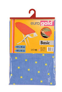 Сменный чехол Basic для гладильной доски 120*40 (+-2 см), Eurogold (Украина)