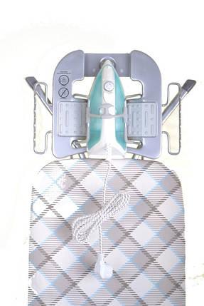Гладильная доска Perfekt 120*38 см (металлическая сетка), Eurogold (Украина) 30338R, фото 2