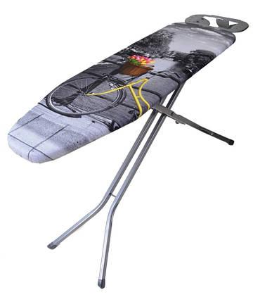 Гладильная доска Aero Max 120*38 см (пенопластик), Eurogold (Украина) 30468B1, фото 2