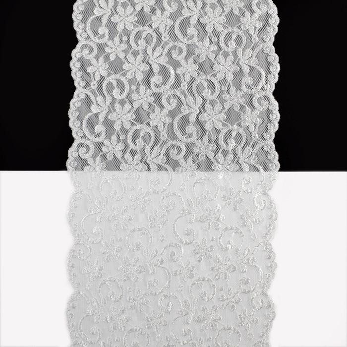 Кружево Франция арт. 397 белое, 15 см.