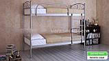 Кровать металлическая Верона Дуо / Verona Duo двухъярусная 80 (Метакам) 860х2080х1730 мм, фото 2
