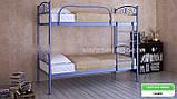 Кровать металлическая Верона Дуо / Verona Duo двухъярусная 80 (Метакам) 860х2080х1730 мм, фото 4