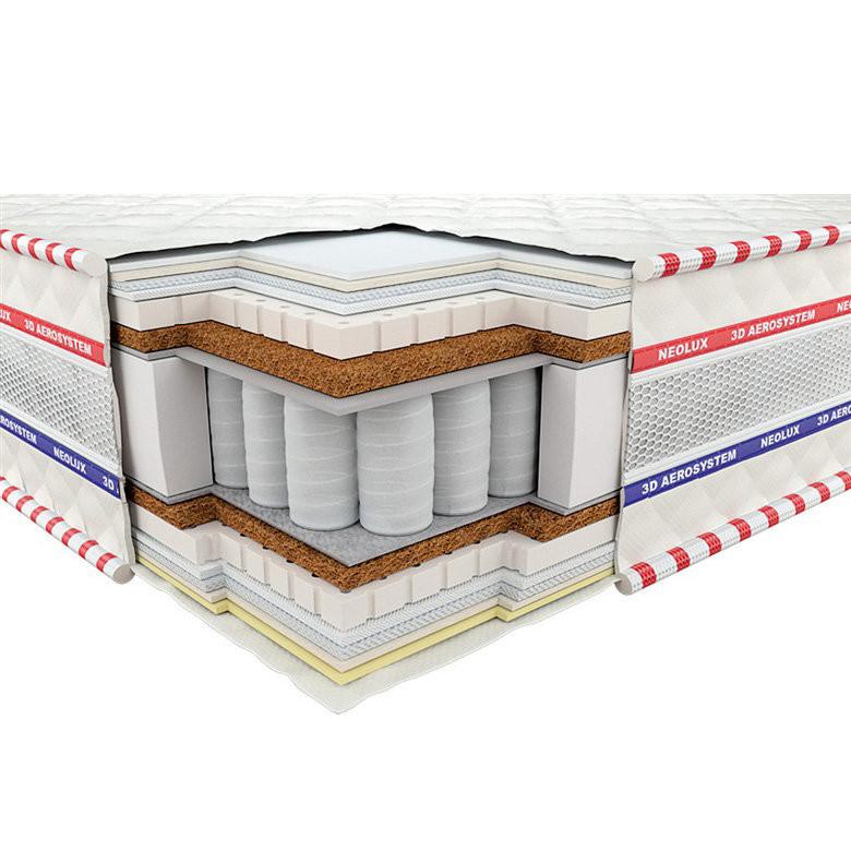 Матрас Neolux ИМПЕРИАЛ латекс/кокос 3D