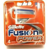 Сменные картриджи для бритья Gillette Fusion Power (4 шт)