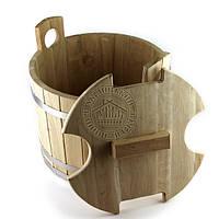 Запарник для веников, дуб (21 л, 40*26 см)