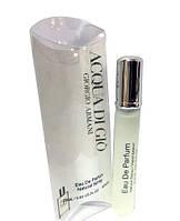 Мужской мини парфюм Giorgio Armani Acqua Di Gio (Джорджио Армани Аква Ди Джио), 20 мл
