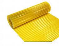 Шифер прозрачный в рулонах волновой желтый