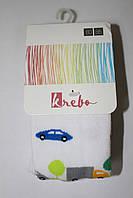 Детские хлопковые колготы ТМ Кребо, Польша р-р 62-74, 80-86