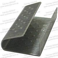 Скрепа металлическая СП 12-28П (для лент 12 мм)
