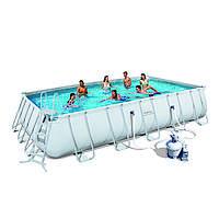 Каркасный бассейн Bestway 56471/56278 с песочным фильтром (671х366х132)
