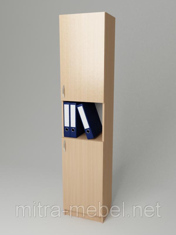 Шкаф для документов узкий К-126 (300*320*1860h)