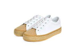 Женские кеды Seastar white/beige 37