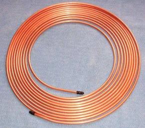 Трубка медная ДКРНТ 22 х 1.5 х 4000 мм, фото 2