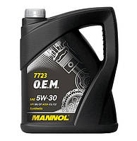 Моторное масло Mannol O.E.M. for Land Rover Jaguar SAE 5W-30 C1/C2 5 л