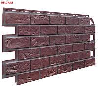 """Фасадные панели """"Vox"""" серия кирпич (Solid Brick) BELGIUM (0,42м2)"""