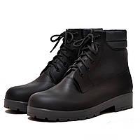 Чоловічі черевики утеплені Nordman Rover коричневі з чорною підошвою